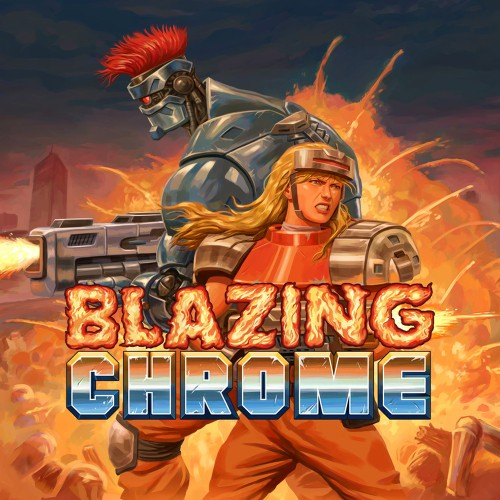 precio actual de Blazing Chrome en la eshop