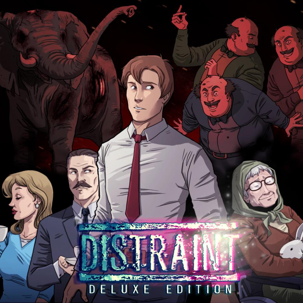 precio actual de DISTRAINT: Deluxe Edition en la eshop