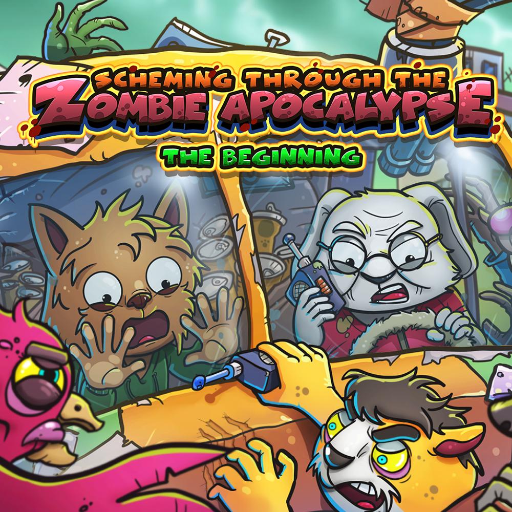 precio actual de Scheming Through The Zombie Apocalypse: The Beginning en la eshop