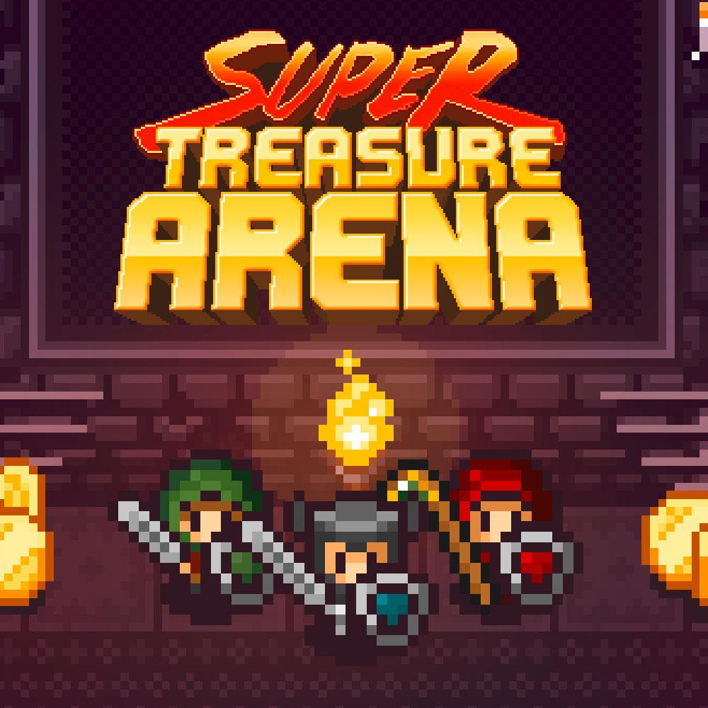 precio actual de Super Treasure Arena en la eshop